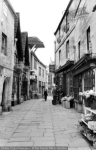 bradford-on-avon-the-shambles-c1955_b174082